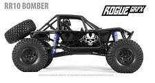 Axial RR10 Bomber Body Graphic Wrap Skin- Dagger Skull