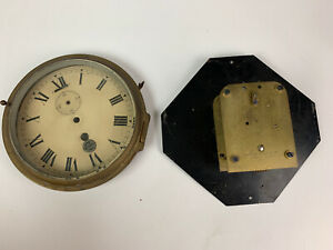 Antique B Cooke & Sons clock - Smith's Astral movement - beveled glass