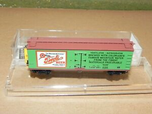Micro-Trains N Ga. Tivoli Beer 40' Reefer Car #49440 NIB