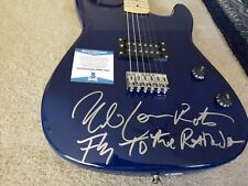ULI JON ROTH SIGNED AUTOGRAPH GUITAR WITH INSCRIPTION! SCORPIONS BAS