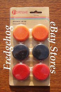 "6 x 40mm (1.6"") Coloured Foam / Sponge Ear Pads for Earphones & Headphones- New"