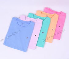 Tommy Hilfiger Women Favorite Short Sleeve Crew-Neck tee t-shirt - $0 Shipping