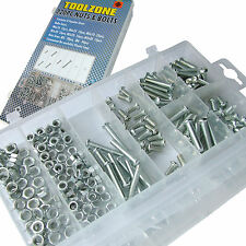 Assorted Nuts & Philips Bolts set 6mm & 5mm Nuts with cross head Bolts 220pc