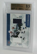 1999-00 BAP Ozolinsh Forsberg All Star Jersey BGS 9.5