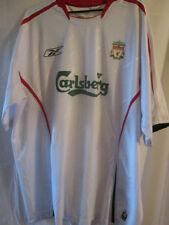 """Liverpool 2004-2005 Away camiseta de fútbol Talla Xl 46 """" -48"""" / 16123"""