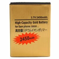 High Capacity Battery for Samsung Galaxy ACE S5830 Gold 2450mAh