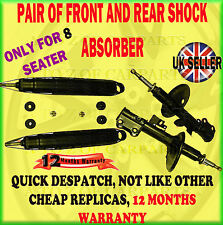 FOR TOYOTA ESTIMA LUCIDA 2.2 PREVIA 2.4 X4 8SEATER FRONT REAR SHOCK ABSORBER SET