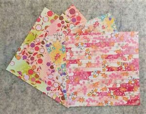 20 Pcs Origami Paper 15 x 15cm - Japanese Flower Floral Scrapbook DIY Origami!.