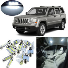 7 x White LED lights interior package kit for 2007-2015 Jeep Patriot