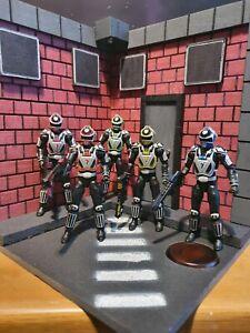 Power Rangers street diorama light up lightning collection legacy spd mmpr