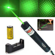 10Miles 532nm 1Mw Green Beam Light Presentation Laser Pointer Pen & Battery Usa
