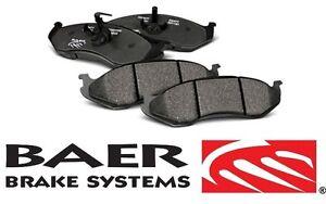 BAER Brake System Front Sport Brake Pads - Pair for 2007-2017 Jeep Wrangler JK
