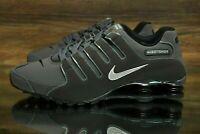 🔥 Nike Shox NZ Dark Grey Metallic Iron Vince Carter Shoes 378341-059 Size 10