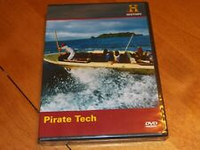 MODERN MARVELS PIRATE TECH Pirates Ships Boats Weapons History Channel NEW DVD