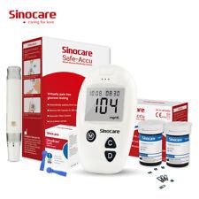 Sinocare test STRIPS & Lancets for Safe-blood glucose meter ACCU Sugar monitor