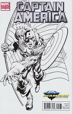 Captain America #1 Diamond Select Toys Neal Adams Sketch Variant In Hand