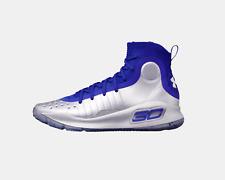 UA Curry 4 Men's Size 11.5 NIB $129.99 (1298306-403) White ID 700 (no Box top)