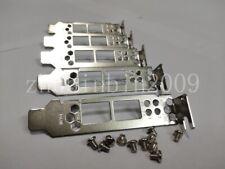Lot of 5 pcs Low Profile Bracket For HP NC523SFP QLE3242 HP 593717-B21