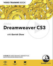 USED (LN) Adobe Dreamweaver CS3: Video Training Book by Garrick Chow