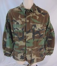 USMC Combat Woodland Camouflage Camo Field Coat Jacket Mens Small Reg EE274 Flaw