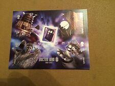 GB 2013 Doctor Who-Bloc-feuillet-neuf sans charnière Comme neuf Déplié