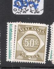 Malaysia Postage Due SG D12-16 MNH (4dma)