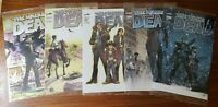 The Walking Dead #1,2,3,4,5 - Lot includes the Cromium Variant - Mexican Edition