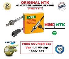 NGK NTK O2 OXYGEN LAMBDA SENSOR for FORD COURIER Box Van 1.4i 90 bhp 1996-1999