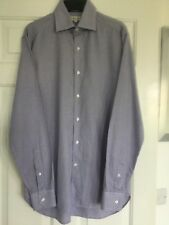 "Reiss Mens Shirt M 42"" Blue/grey check"