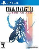 Final Fantasy 12 XII The Zodiac Age [Sony PlayStation 4 PS4 Square Enix RPG] NEW