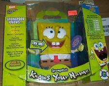 RARE New Open Box 2006 Fisher Price Sponge Bob Knows Your Name Easy To Program