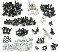 Carenado tornillos + clips yamaha aerox MBK nitro tornillos negro - 157 unid