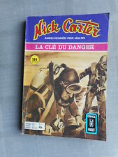 NICK CARTER N°7 LA CLÉ DU DANGER COMICS POCKET BON ETAT