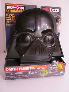 Angry Birds Star Wars TELEPODS DARTH VADER PIG CARRY CASE - Holds 30 Figures