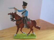 RARE LEAD ENGRAVED NAPOLEONIC FLAT FIGURES PART 1 OF A LARGE SET ''PRUSSIAN ''