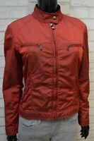 BREMA Donna Taglia 44 Giubbino Giubbotto Giacca Corta Impermeabile Jacket Woman