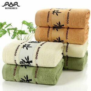 100% Bamboo Towels  Super  Soft  Face  Bath  Towel Set Summer Cool Bamboo Fiber
