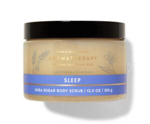 Bath & Body Works Aromatherapy Sleep Lavender Vanilla Shea Sugar Body Scrub 13oz