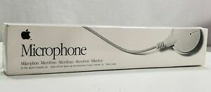 Vintage Apple Computer Microphone 699-5103-A Brand New Old Stock In Packaging