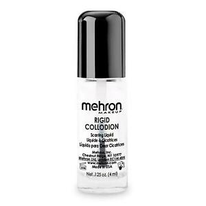 Mehron Rigid Collodion FX Scarring Liquid Movie Special Effects Stage Makeup 4ml