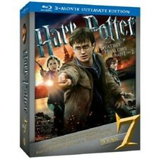 Harry Potter and the Deathly Hallows Blu-Ray 2- Movie Ultimate Edition OOP New