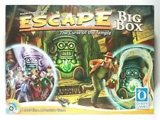 Escape Curse of the Temple Board Game Complete Big Box Queen Games