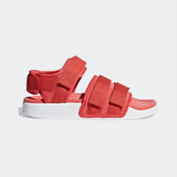 New Adidas Original Womens ADILETTE SANDAL AQ1126 RED / WHITE US W 5 - 10 TAKSE