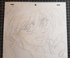 Dessin Original Van ESCAFLOWNE signé Nobuteru YUKI Cellulo Manga Douga Anime ART