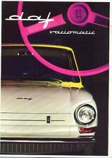 DAF 44 Variomatic Italian text original colour sales brochure c.1967
