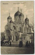 Russian Cathedral in Warsaw/Warszawa, Poland, 1910s (2)