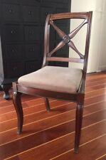 Lot de 4 chaises anciennes