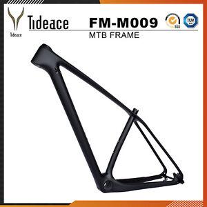27.5er Full Carbon Mountain Bike Frame 17'' OEM MTB Frameset Matte Bicycle Frame