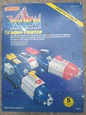 VOLTRON Defenders of the Universe Aqua - Fighter COMPLETE VERY RARE 1985