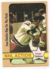 1972 O Pee Chee HOF Jean Ratelle New York Rangers #48
